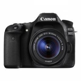 Canon 80D + 18-55 IS STM (1263C033)